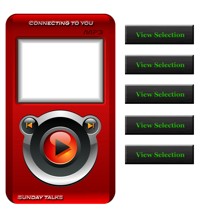MP3 player screen